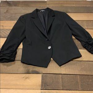 Express 3QT Sleeve Blazer